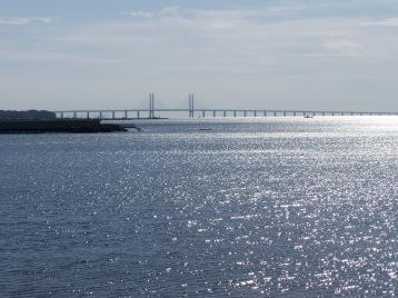 El espectacular puente colgante que une Suecia y Dinamarca por el estrecho de Öresund