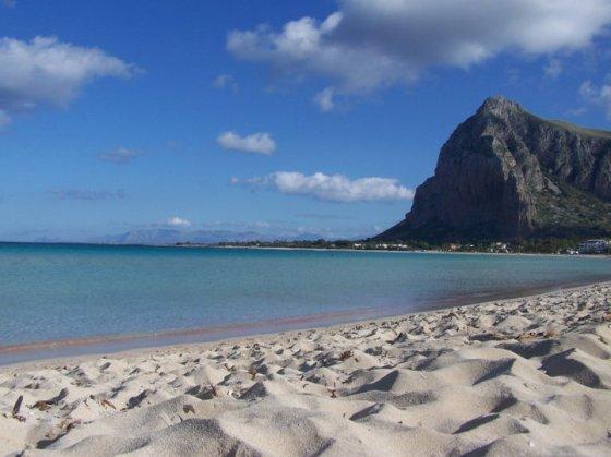 Playa de San Vito lo Capo en Sicilia
