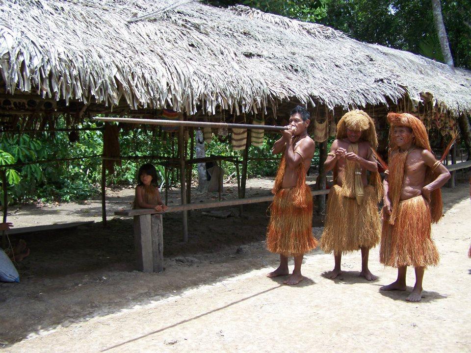 Volver a la inocencia en la selva peruana