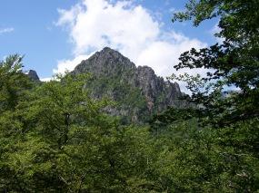 Cumbre del Cuetu Negru, en Caso, Parque Natural de Redes