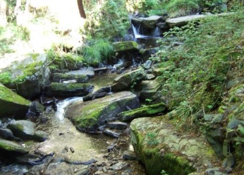 Río Agüeira, ruta de la Seimeira de los Oscos