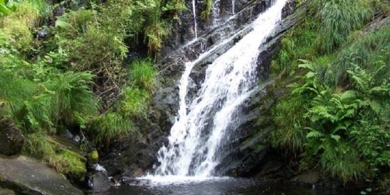 Seimeira o cascada de Santa Eulalia o Santalla de Oscos