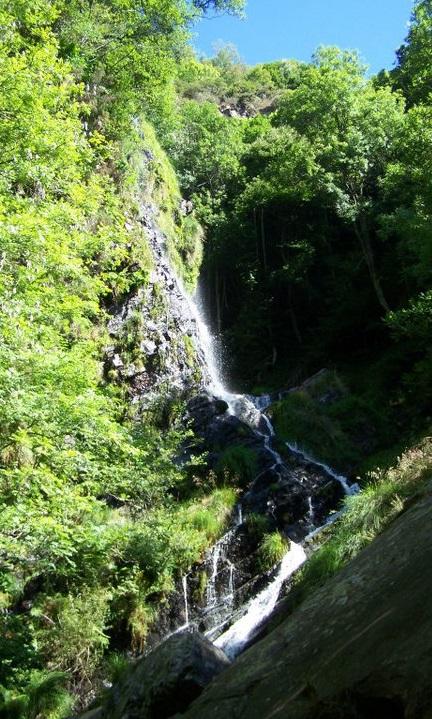 Cascada o Seimeira de los Oscos