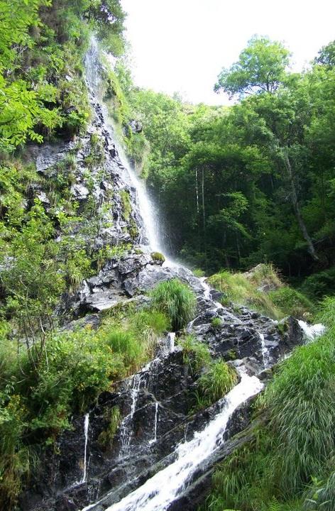 Cascada o Seimeira de los Oscos, Santalla o Santa Eulalia de Oscos