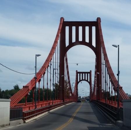 Puente Dardo Rocha sobre el río Quequén