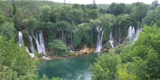 Cascadas de Kravica, Bosnia, región de Herzegovina