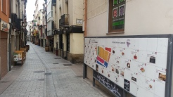 Mapa con el pincho típico de cada local de la calle San Juan