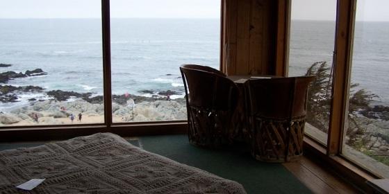 Habitación de Pablo Neruda en su casa, hoy museo y tumba, en Isla Negra