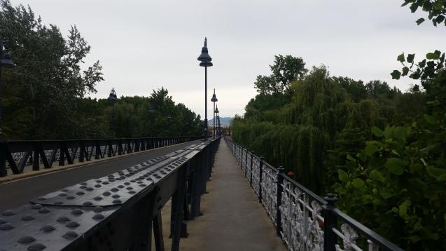 Puente de Hierro sobre el Ebro