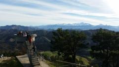 Mirador del Fitu con los Picos de Europa al fondo