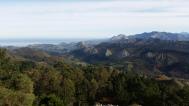 Picos de Europa y costa de Ribadesella desde El Fitu