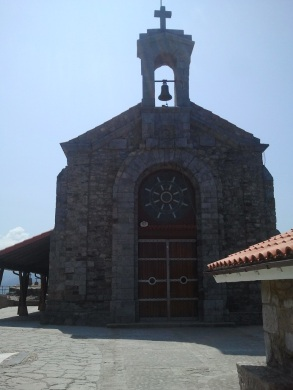Portada de la ermita de San Juan de Gaztelugatxe