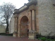 Histórica puerta de entrada a Osnabrück o Heger Tor
