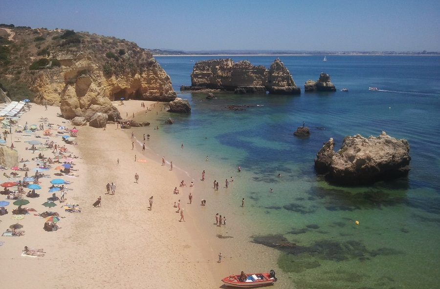 Playa de Dona Ana, Lagos, Algarve