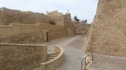 Interior de la Fortaleza de Melilla la Vieja