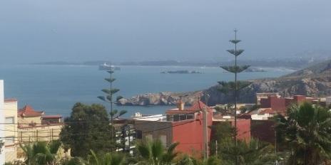 Desde Calabonita, Alhucemas, se ven los tres islotes