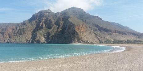 Playa de Badis al este de Vélez