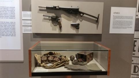 Armas de la Resistencia en el Museo honónimo
