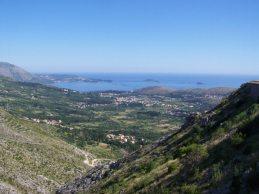Costa dálmata, Croacia, desde la frontera con Bosnia