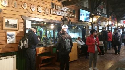 Estación del Fin del Mundo en Ushuaia