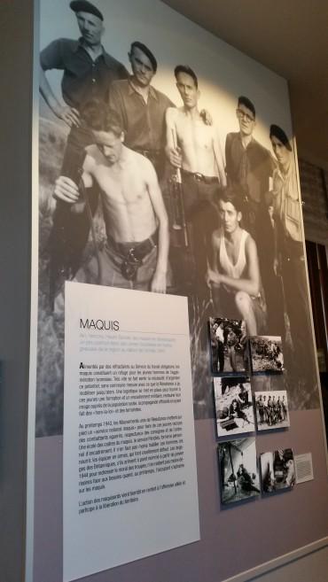 Homenaje a los maquis en el Museo de la Resistencia