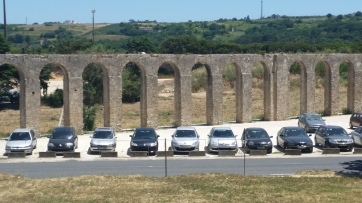 Acueducto de Óbidos, desde Porta da Vila