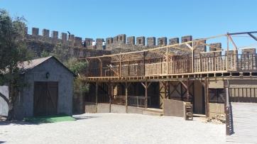 Fortaleza de Óbidos engalanada para actuaciones veraniegas
