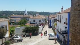 Rua Direita desde la fortaleza