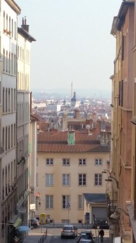 """Lyon desde las """"Pentes de la Croix Rousse"""""""