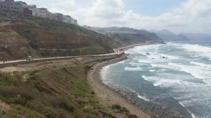 Playa de La Cebadilla (Alhucemas), donde se produjo el Desembarco