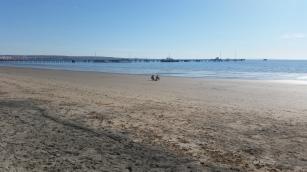 Puerto Madryn y muelle Storni