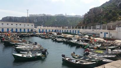 Puerto pesquero de Alhucemas