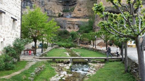 Pequeño paseo fluvial de Orbaneja
