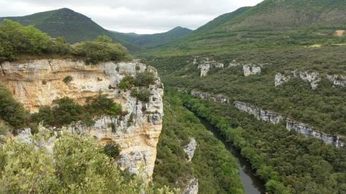 Cañón del Ebro desde el mirador