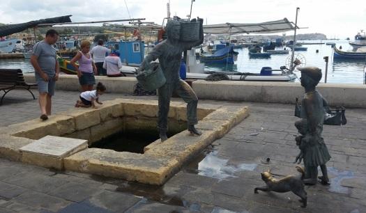 Homenaje a los pescadores de Marsaxlokk