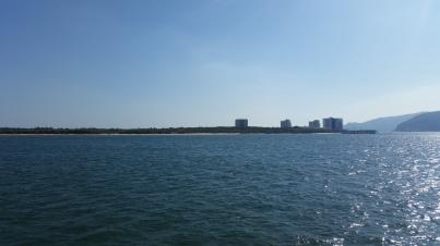 Península de Tróia desde el ferry