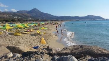Pacheia Ammos, playa principal de Falassarna