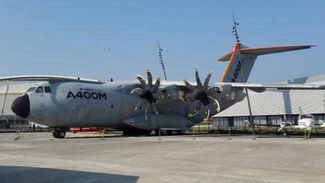 A400M en Aeroscopia, Toulouse
