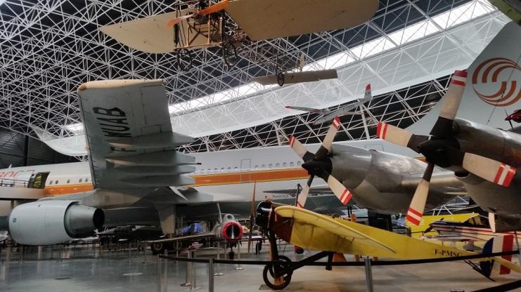 Muestra de aviones de todas las épocas