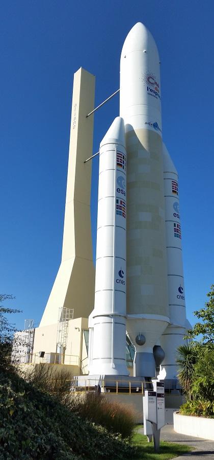Toulouse, Ariane 5 en Cité de l'Espace