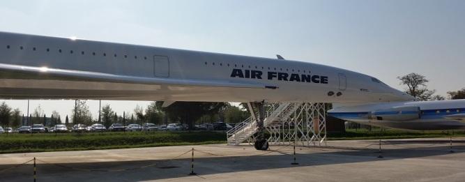 Toulouse, punta del Concorde en Aeroscopia