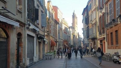 Rue du Taur, centro peatonal