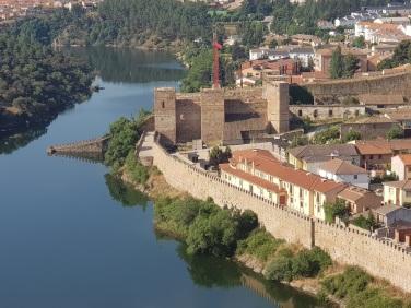Detalle del castillo desde el mirador