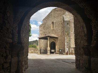 Arco y Santa María del Castillo