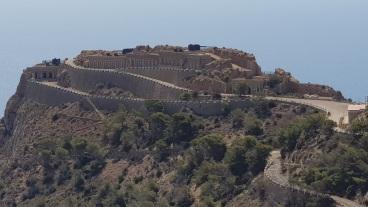 Batería de Loma de Jorel desde Castillitos