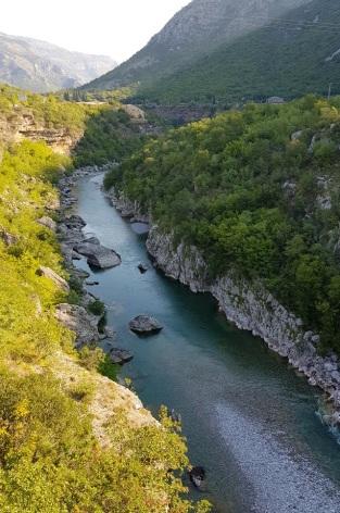 Cañón del río Morača