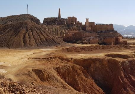 Complejo principal de la mina de Mazarrón