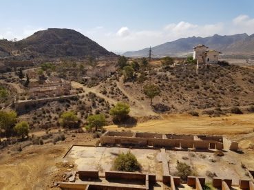 Resto de edificios de la mina de Mazarrón