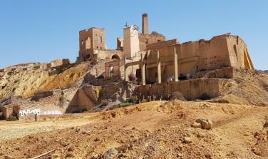 Edificio principal de la mina de Mazarrón
