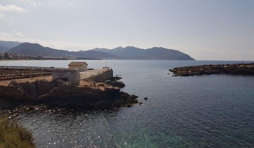 El Baño de la Marrana (Isla Plana)